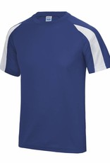 Dunstable Junior Contrast Cool T Royal/White