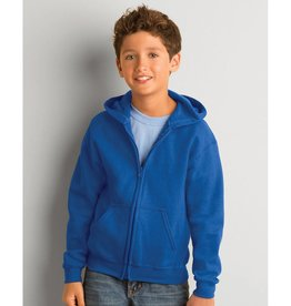 Dunstable Junior Full Zip Hoodie Royal