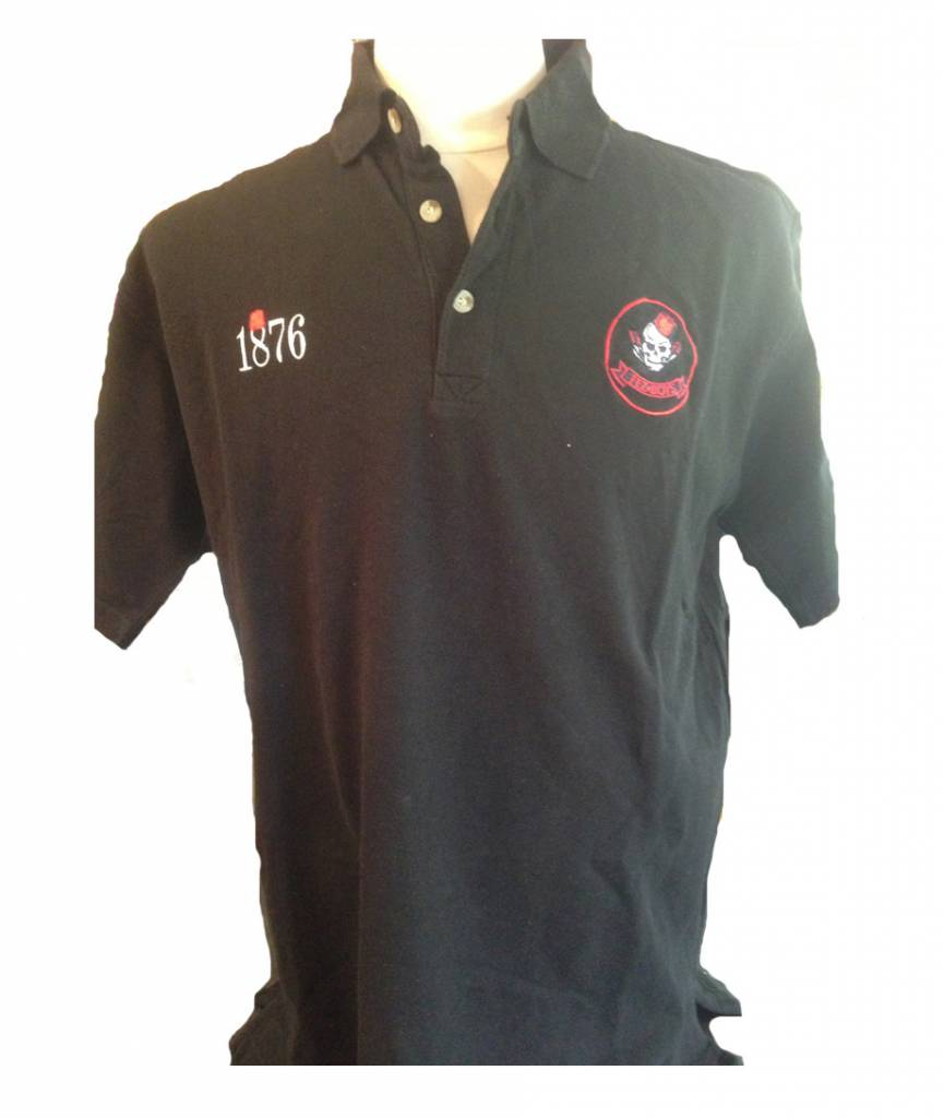 Saracens Fez Boys Adults Polo Shirt Black
