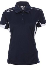 BLK OA Saints Ladies Tek V Polo Navy