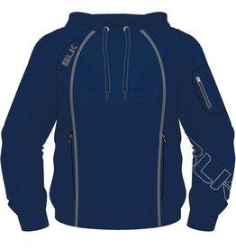 BLK OA Adults Tek V Pullover Hoodie Navy