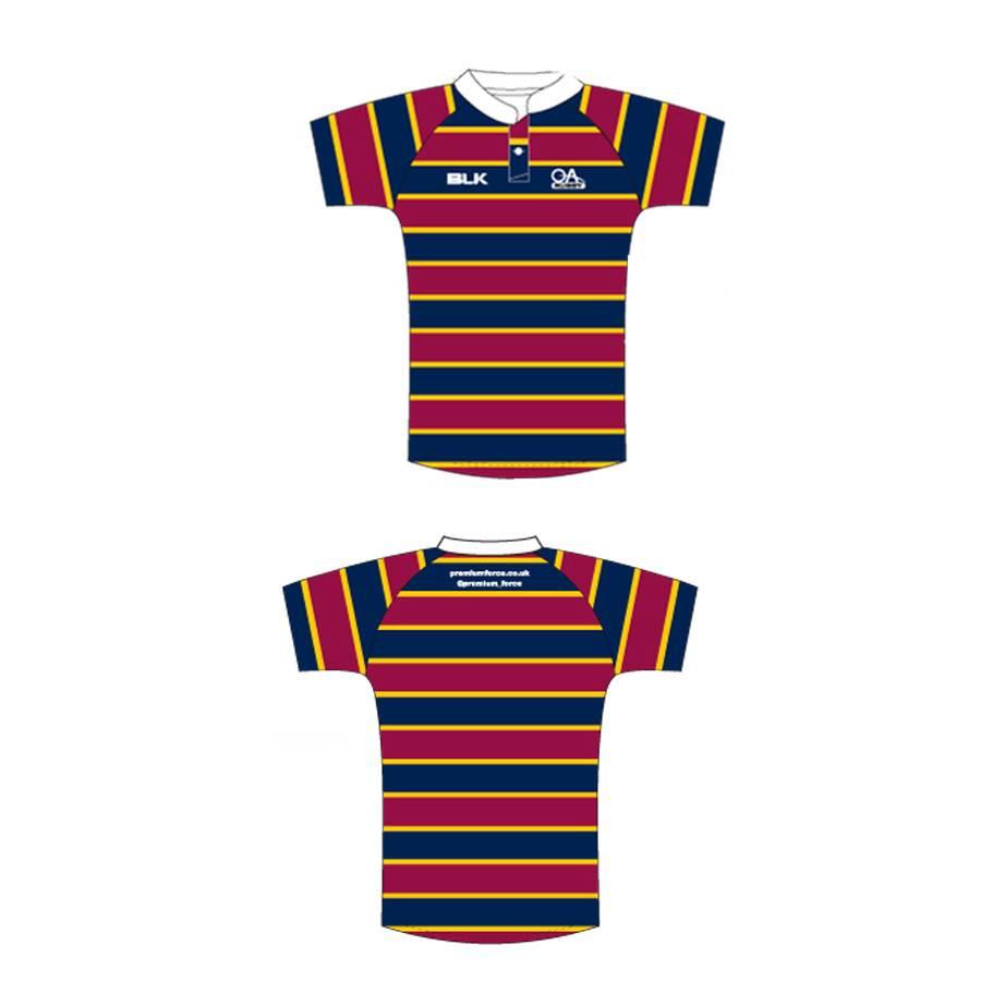 BLK OA Junior Hydrotek M&J Shirt 2014