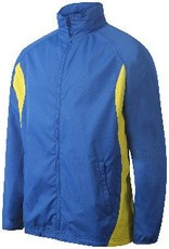 St Albans Junior Track Top Royal/Amber