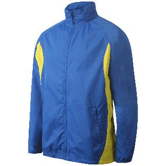 St Albans Adult Track Top Royal/Amber