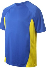 St Albans Adult Training T-Shirt Royal/Amber