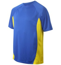 St Albans Junior Training T-Shirt Royal/Amber