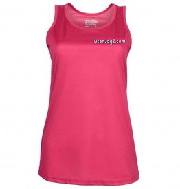 UCANJOG Girlie Cool Vest Hot Pink