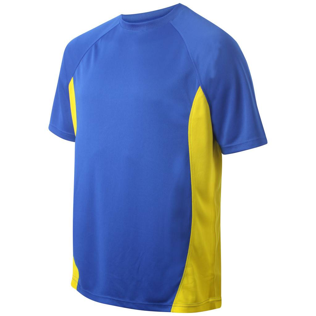 VRFC Junior T-Shirt Royal/Yellow