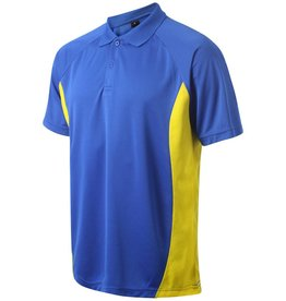 VRFC Adults Matchday Polo Royal/Yellow
