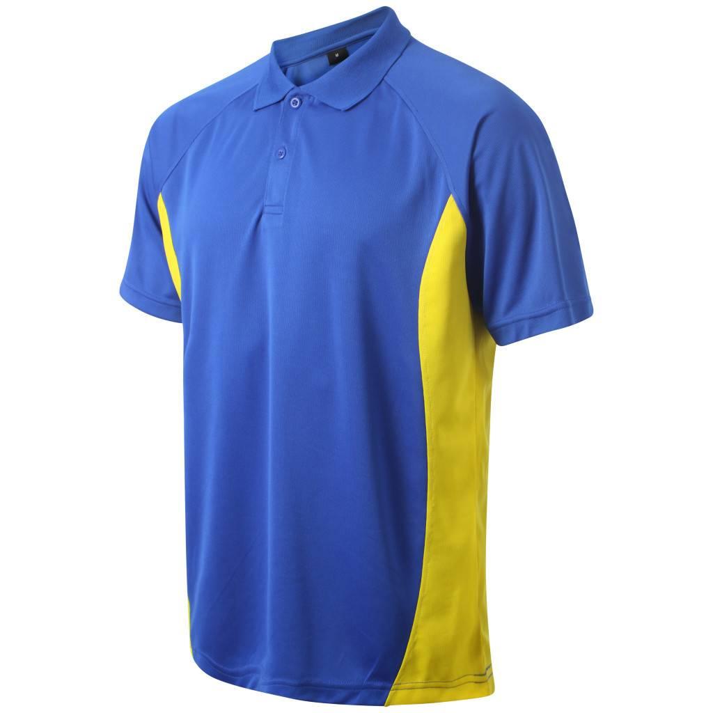 VRFC Adults Matchday Polo Royal/Yellow