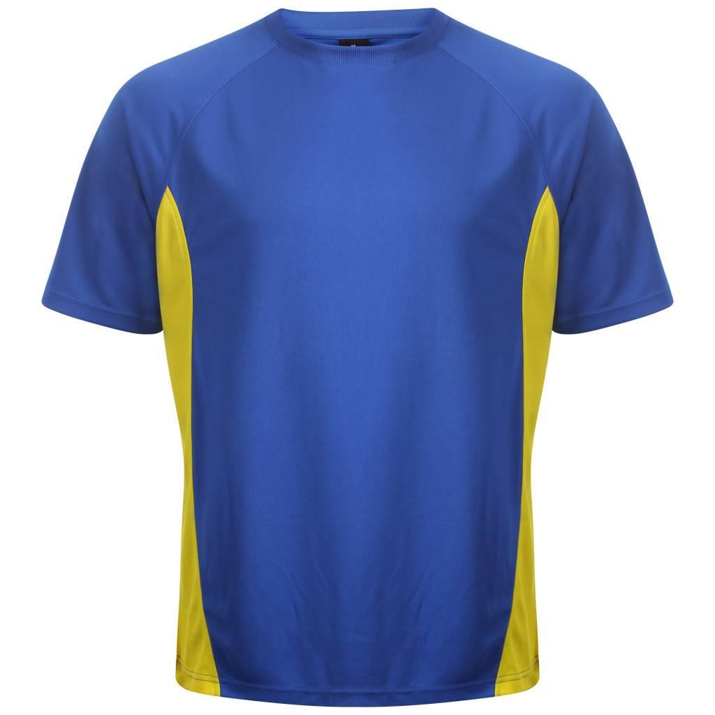 VRFC Adults T-Shirt Royal/Yellow