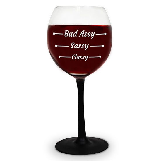 Big Mouth Inc Big Mouth Bad Assy Wine Glass