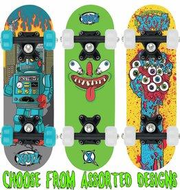 """Xootz Xootz 17"""" Skateboard Asstd"""