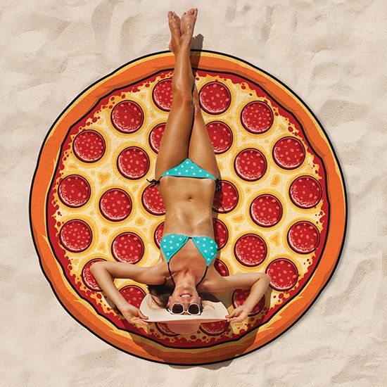 Big Mouth Inc Big Mouth Giant 5' Beach Blanket Pizza