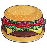 Big Mouth Inc Big Mouth Giant 5' Beach Blanket Burger