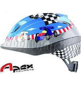 Buddy Race Car Bike Helmet Blue