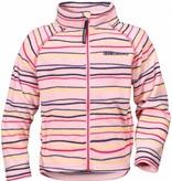 Didriksons Girls Monte Fleece Jacket Pink Billow