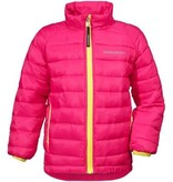 Didriksons Girls Umlali Quilted Jacket Fuchsia