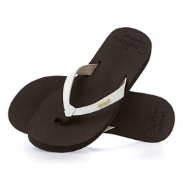 Reef Ladies Star Cushion Flip Flop Brown