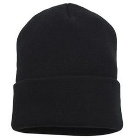 Team Luton Turnover Beanie Black