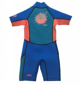 Boys Puffer Infant Shorty Wetsuit Blue