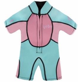 Girls Seahorse Infant Shorty Wetsuit Sky