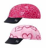 Buff Kids Pink Love Buff UV Cap Hearts