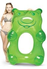 Big Mouth Inc BM Giant Gummi Bear Pool Float Green