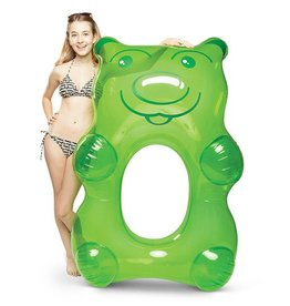 Big Mouth Inc BM Giant Gummi Bear Pool Float Green