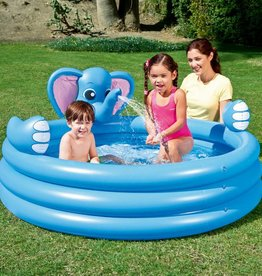 Bestway 3 Ring Elephant Spray Pool