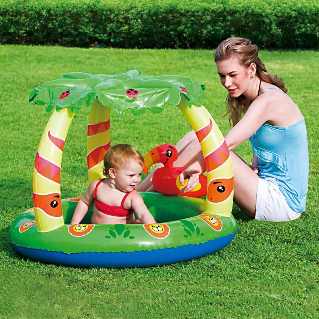 intex inflatable family outdoor swimming paddling pool play center garden toy ebay. Black Bedroom Furniture Sets. Home Design Ideas