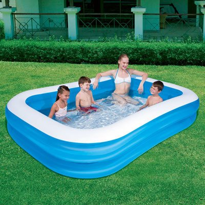 "Bestway 103"" Rectangular Family Pool"