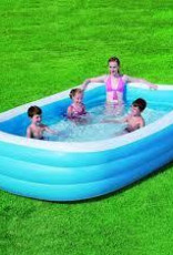 "Bestway 120"" Deluxe Rectangular Family Pool"