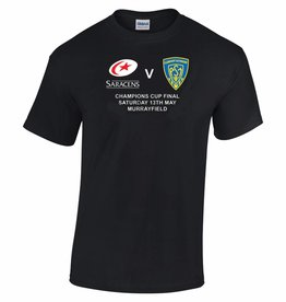 Premium Force Saracens v Clermont Cup Winners T Shirt