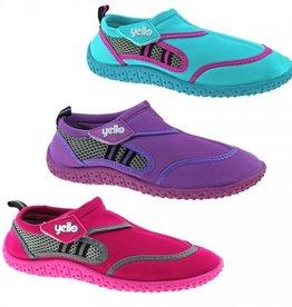 Ladies Berry Aqua Shoe