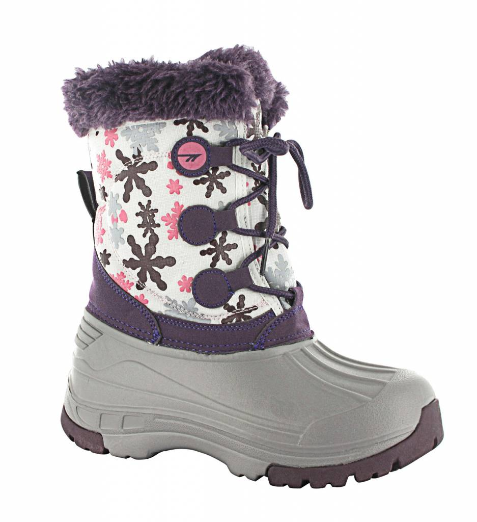 Girls Cornice Jr Boot Beetroot/Silver