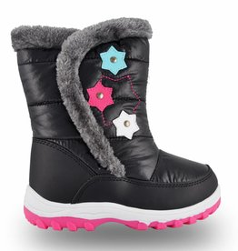 Girls June Snow Boot Black