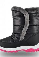 Girls June Snow Boot Black