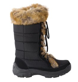 Rojo Ladies Snow Fox Snow Boot Black