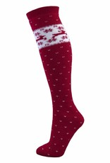 Manbi Junior Patterned Ski Tube Sock