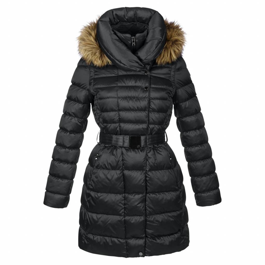 Poivre Blanc Ladies Quilted Down Coat