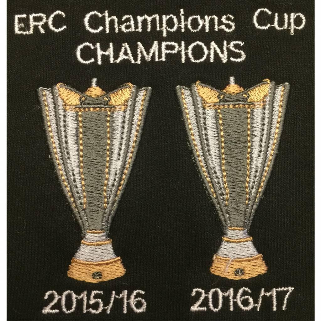 Saracens Double Euro Winner Mens Hoodie