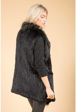 Jay Ley Jay Ley Fox & Coney Fur Long Gilet
