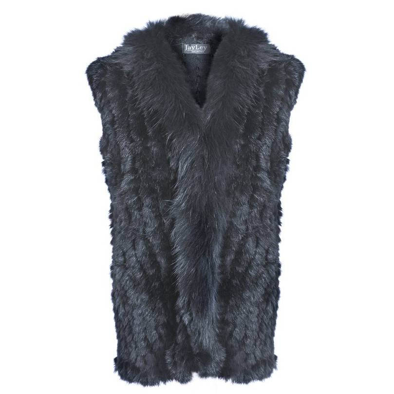 Jay Ley Jay Ley Fox & Coney Fur Gilet