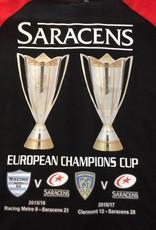 Premium Force Saracens Double European Champs Tee