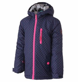 Surfanic Girls Belle Ski Jacket Navy