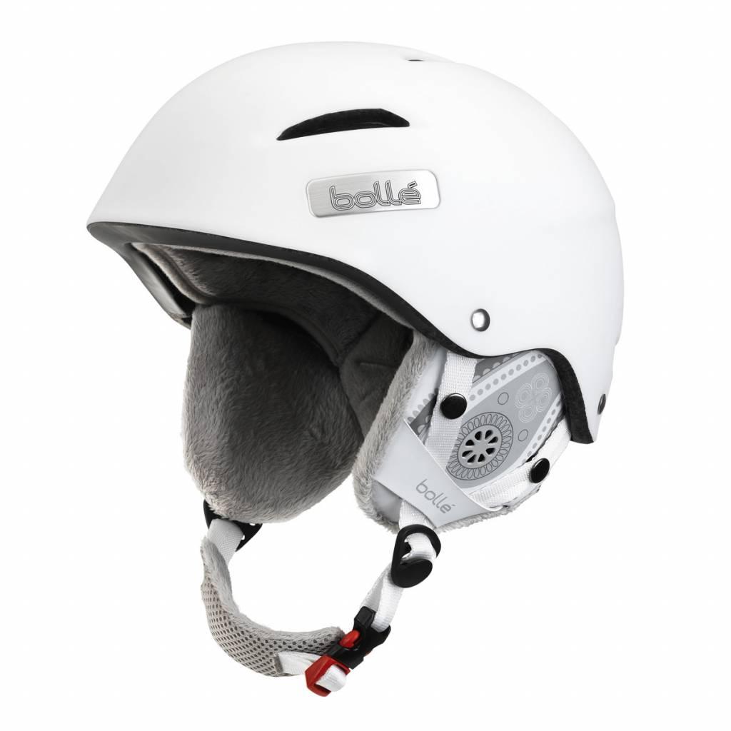 Bolle Adults B-Star Ski Helmet Soft White
