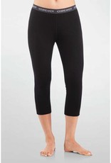 Icebreaker Ladies Legless Bodyfit 200 Black