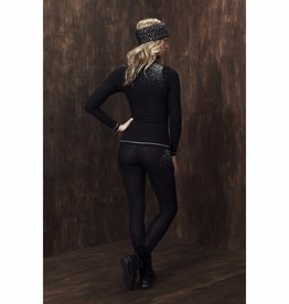 S'No Queen Ladies Blingy Classic Leggings Black