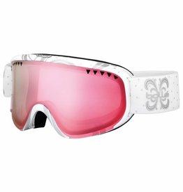 Bolle Scarlett Ski Goggle Shiny White/Vermillion